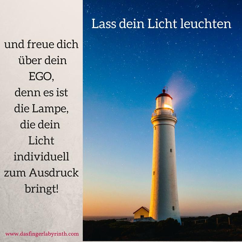 Lass dein Licht leuchten