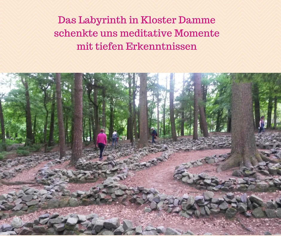 Das Labyrinth in Kloster Damme