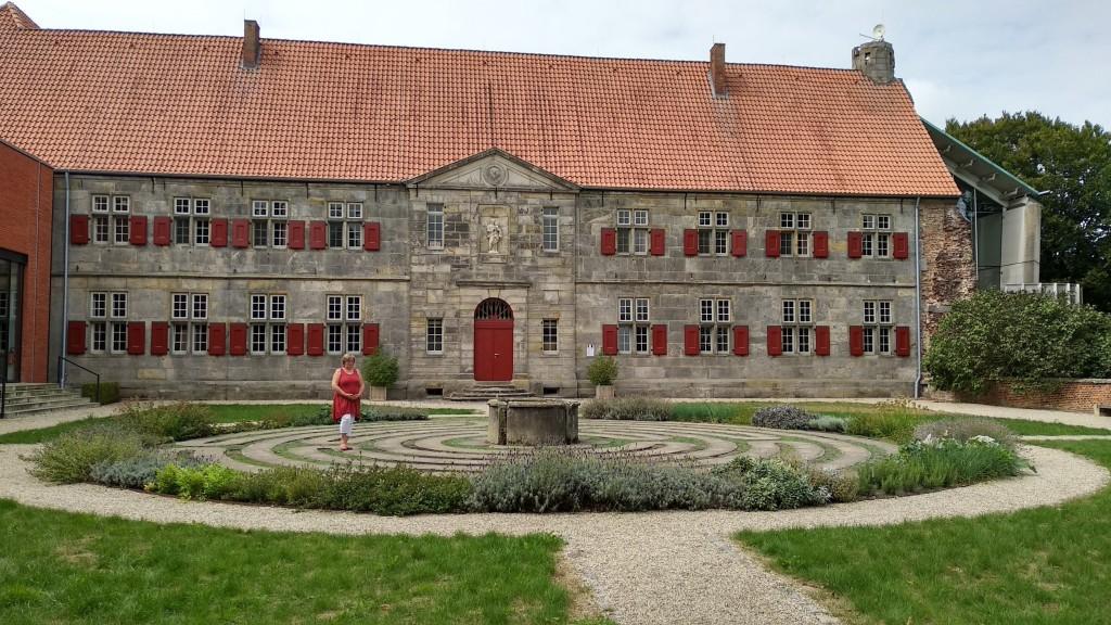 Das Labyrinth in Kloster Frenswegen